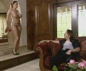 Natural tits seduce